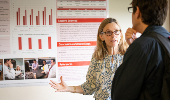 Residents and Faculty Alike Share Their Work at General Internal