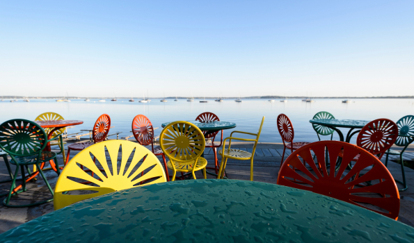 Memorial Union terrace chairs
