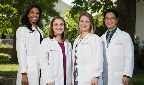 A file photo of the 2016 Department of Medicine chief residents