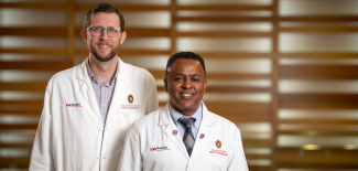 UW Department of Medicine faculty Dawd Siraj, MD, MPH, and Daniel Shirley, MD, MS