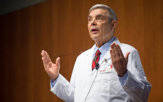 Dennis Maki, MD, professor emeritus, Infectious Disease