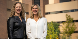 senior author Amy Kind, MD, PhD, and lead author Ann Sheehy, MD, MS